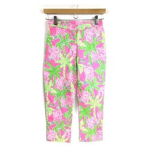 LILLY PULITZER   Taboo Elephant Crop Pants